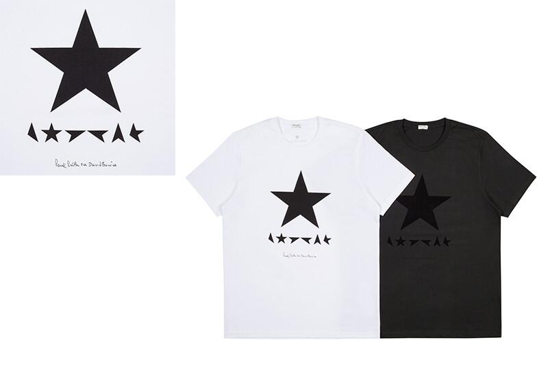 搖滾變色龍大衛鮑伊X Paul Smith推出新專輯Blackstar同名T-shirt