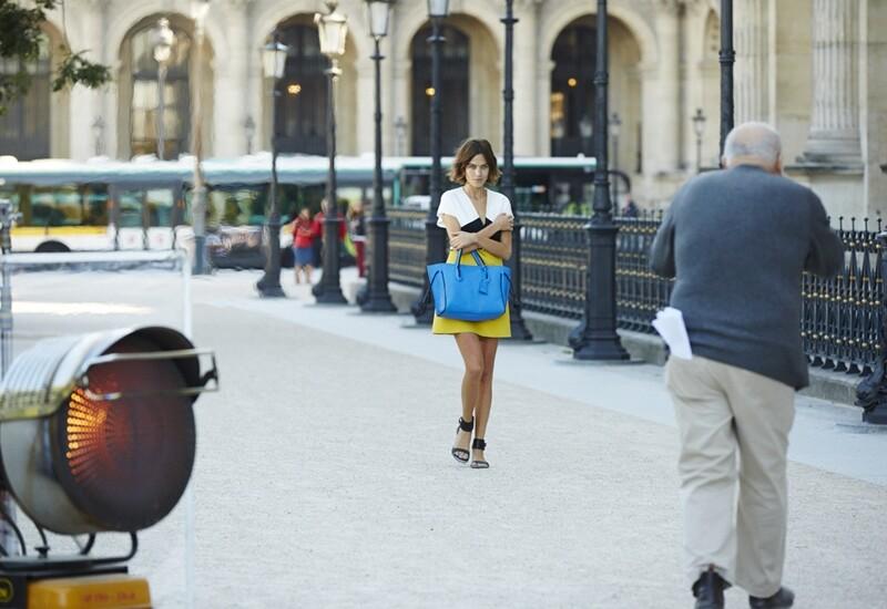 影像詩人Peter Lindbergh 為It Girl Alexa Chung顯盡巴黎女人風情