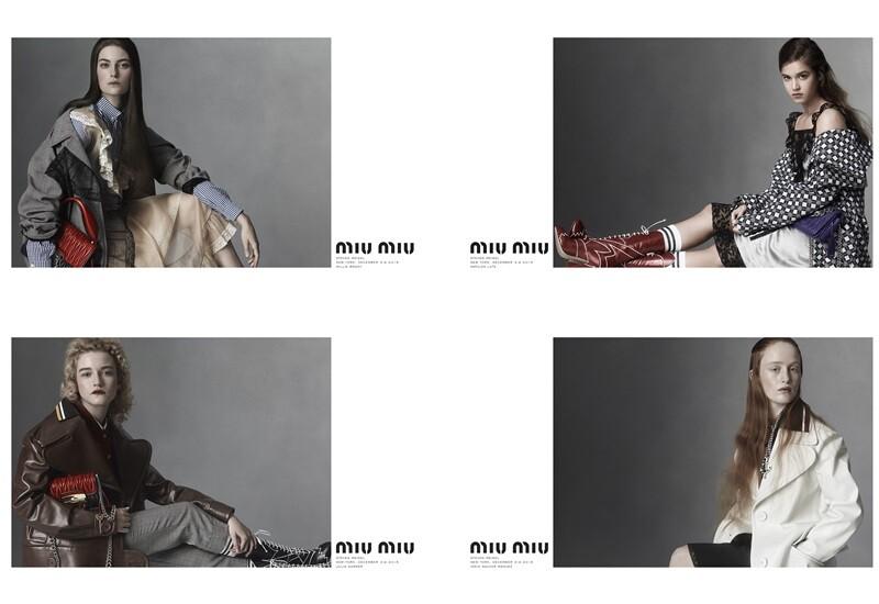 影壇新秀登上Miu Miu 2016春夏廣告!優雅肖像展現中性之美