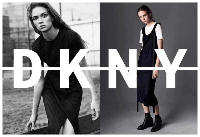 年輕化的都會風格!18歲德國女模Adrienne Juliger登上DKNY形象廣告