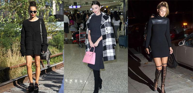 暖冬就靠這一件!跟著Miranda Kerr、Gigi Hadid一起穿時髦針織洋裝