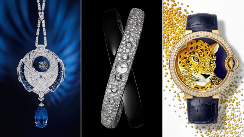 卡地亞高級製錶跨越工藝疆域 成就頂級珠寶腕錶