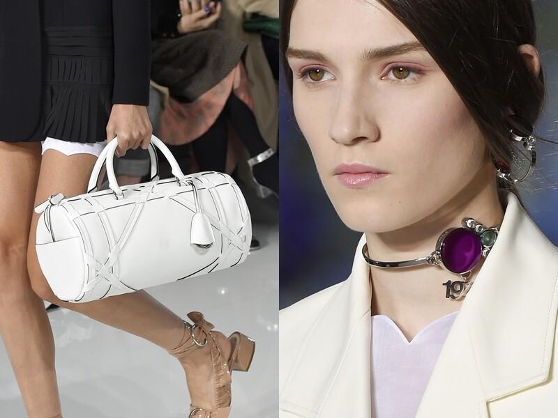 MC Runway HighLights 配件趨勢看這裡 : Dior 勾勒純淨女性特質