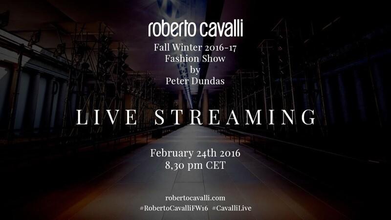 【米蘭時裝週Live】Roberto Cavalli秋冬女裝大秀倒數:2月25日凌晨03點半正式登場!