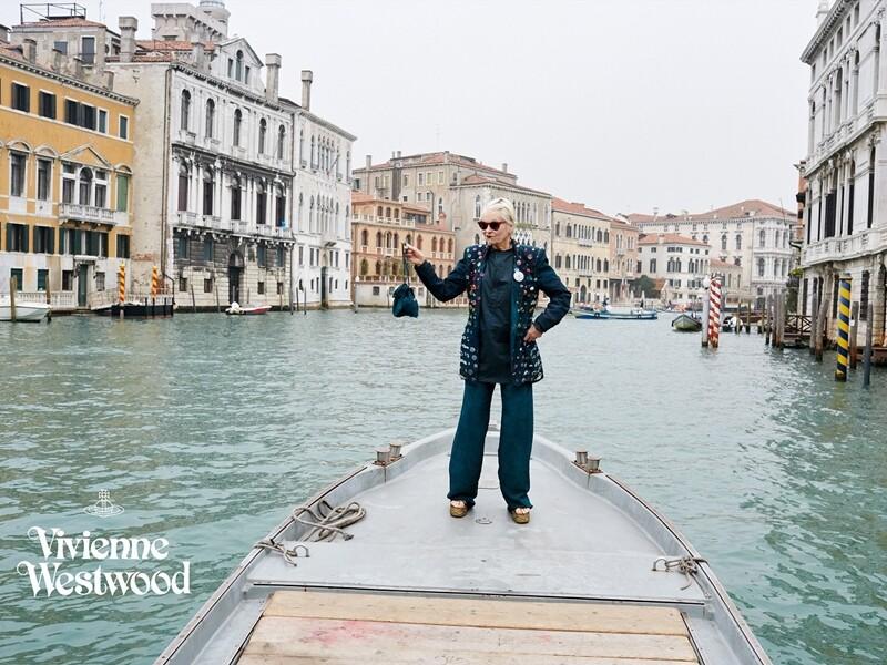 時尚界的環保使者!Vivienne Westwood春夏廣告為威尼斯的美哀悼