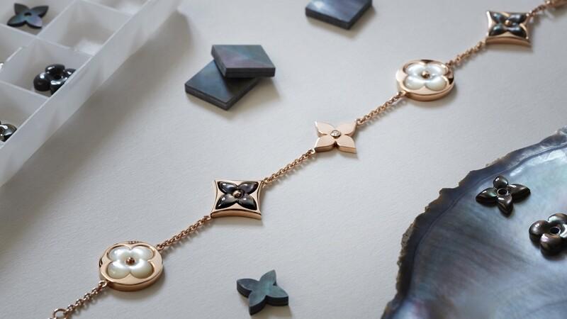 打造四瓣花奢華魅力! LV細膩的珠寶工藝
