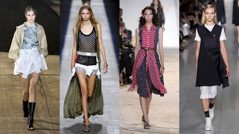 【紐約時裝週】不受拘束的時尚態度,顛覆傳統的混搭才是王道!
