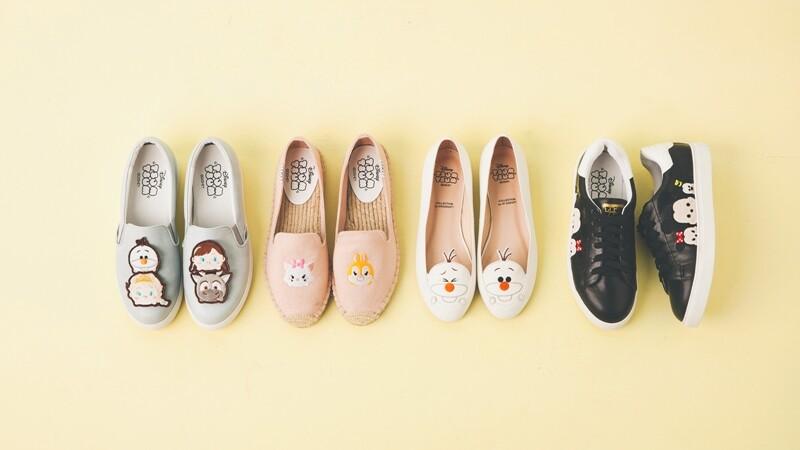 翻玩你的少女心!迪士尼Tsum Tsum x Grace gift超萌鞋款今天開賣