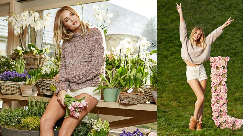 知名超模Rosie Huntington將為UGG代言 展演秋冬新款雪靴