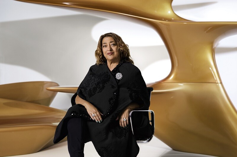 【獨家專訪】Zaha Hadid 創意是一種曲線