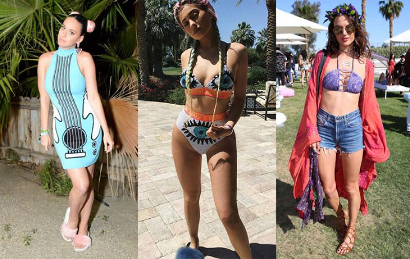 Katy Perry、Kendall Jenner都來了!60款來自Coachella音樂祭的時髦名人造型