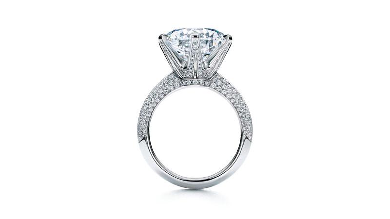Tiffany Setting六爪鑲嵌鑽戒問世130週年 隆重呈獻極致華麗版