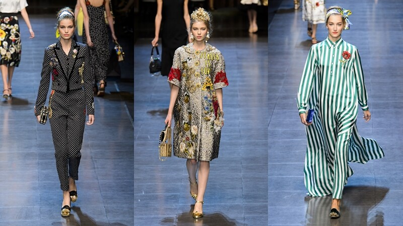 Runway HighLights 春夏配件趨勢看這裡:Dolce & Gabbana將義大利風景化身時尚饗宴