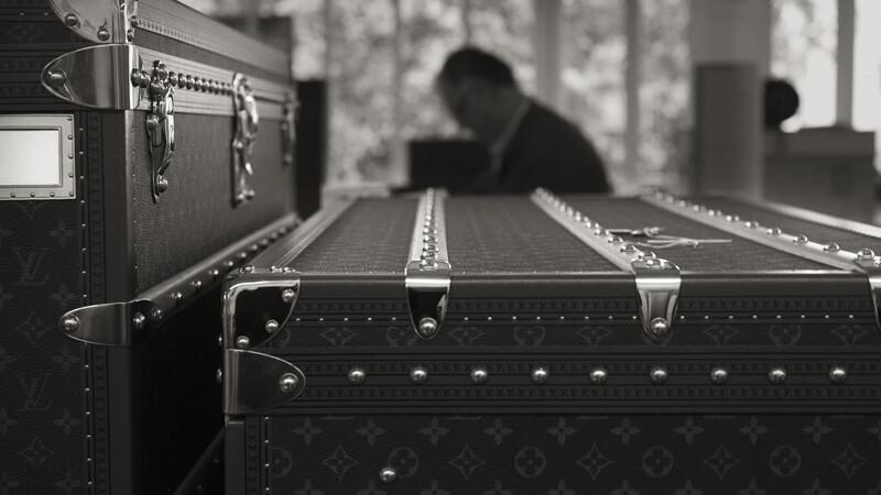 以路易威登的經典硬箱,致那個美好年代