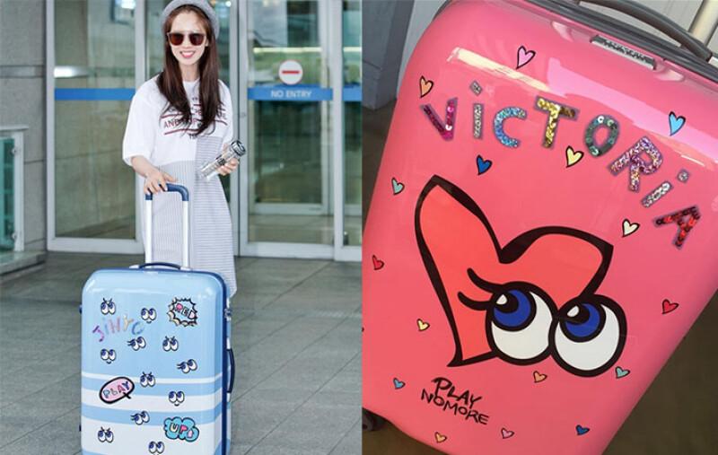 宋智孝也有一個!PLAYNOMORE聯名Samsonite RED推出超萌大眼行李箱