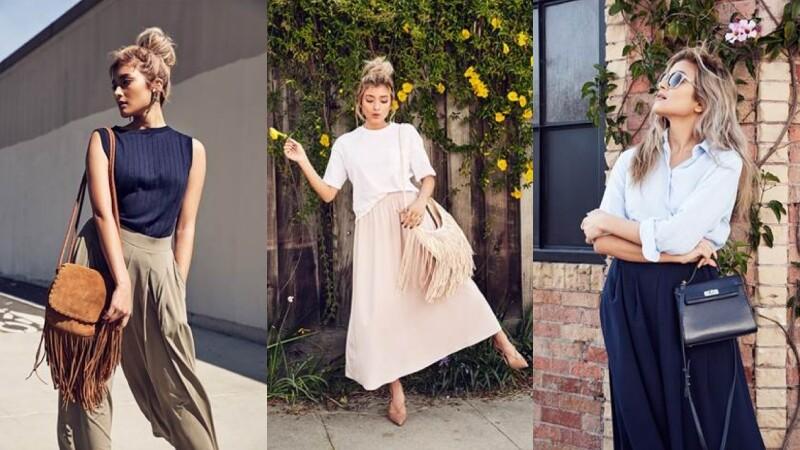 超人氣日模Rola的夏日造型揭密!UNIQLO寬褲、長裙穿搭術