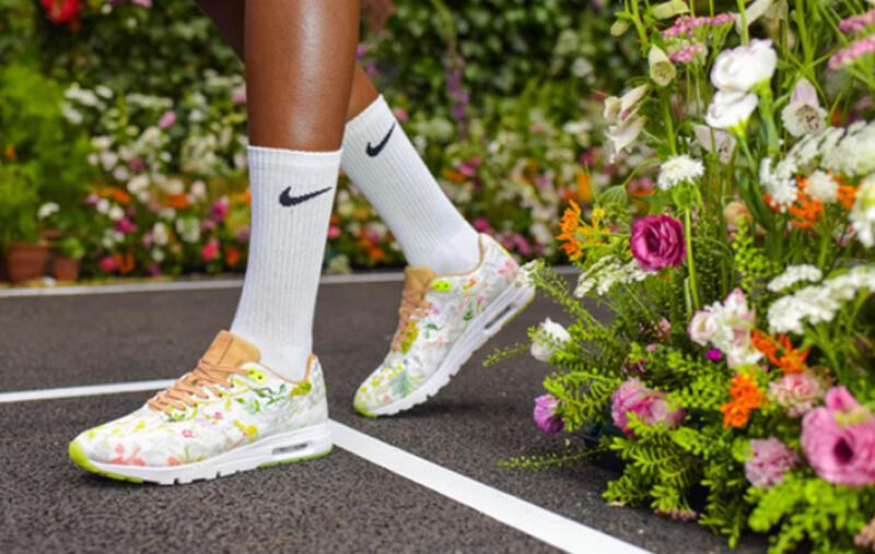 腳上的夢幻花園!NikeCourt x Liberty系列鞋款限量上市