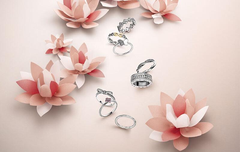 期間限定買二送一!百花盛開的PANDORA夏季戒指