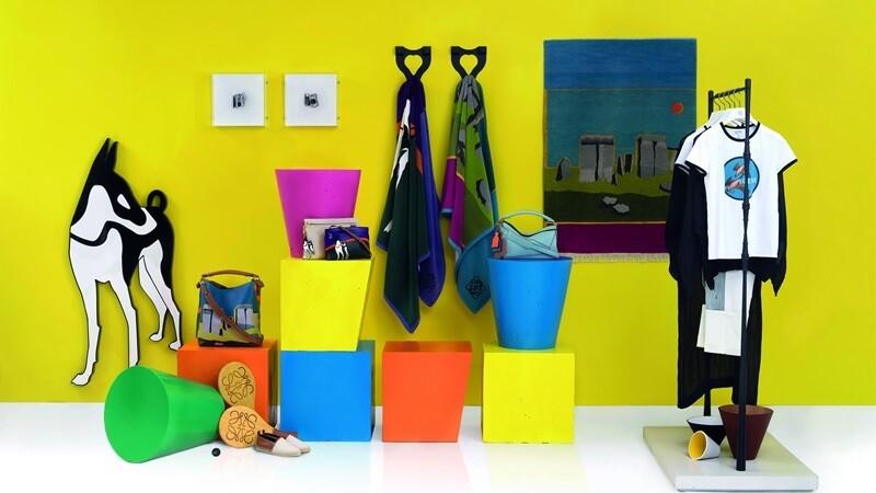 LOEWE用圖象藝術創造繽紛夏日 西班牙伊比薩美術館登場!