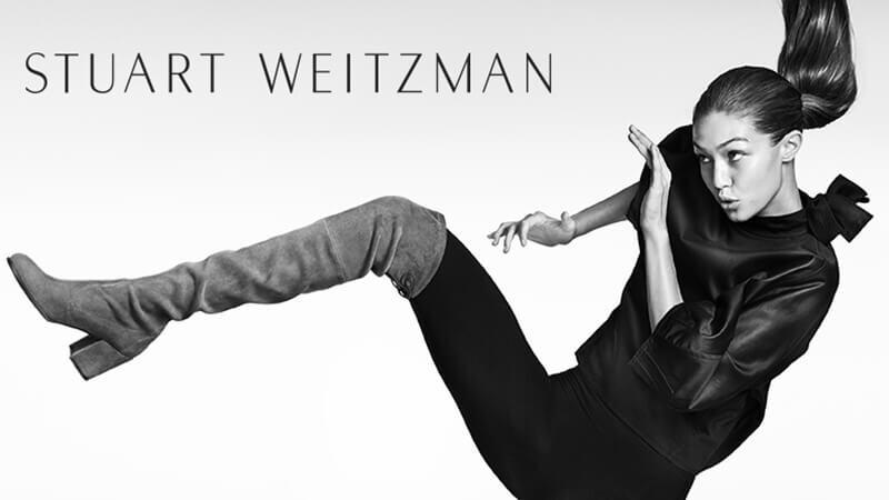 Gigi Hadid完美演繹STUART WEITZMAN廣告大片!
