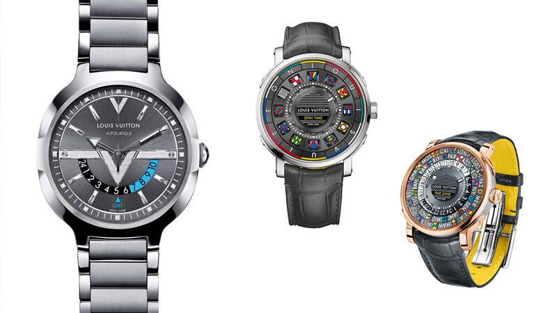 Louis Vuitton 腕錶陪伴旅人環遊世界24小時
