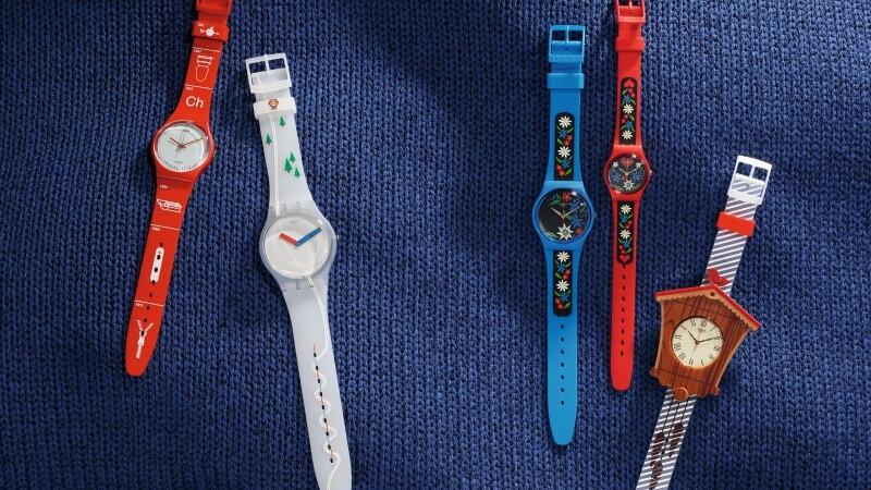 搭配多樣穿搭不是問題!SWATCH推出濃濃瑞士風情的童趣錶款