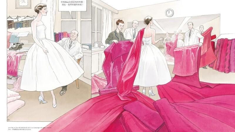 重現Dior世代!《Dior:穿迪奧的女孩》繪出Christian Dior的傳奇一生