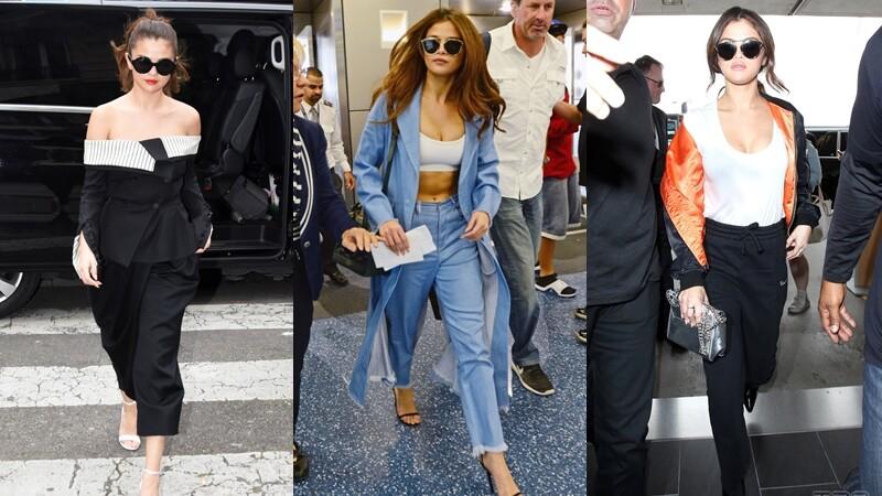 微豐滿才性感!Selena Gomez的10套夏日穿搭
