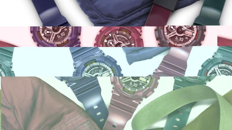 搖滾金屬風vs亮彩螢光系 G-SHOCK展現個人初秋時尚