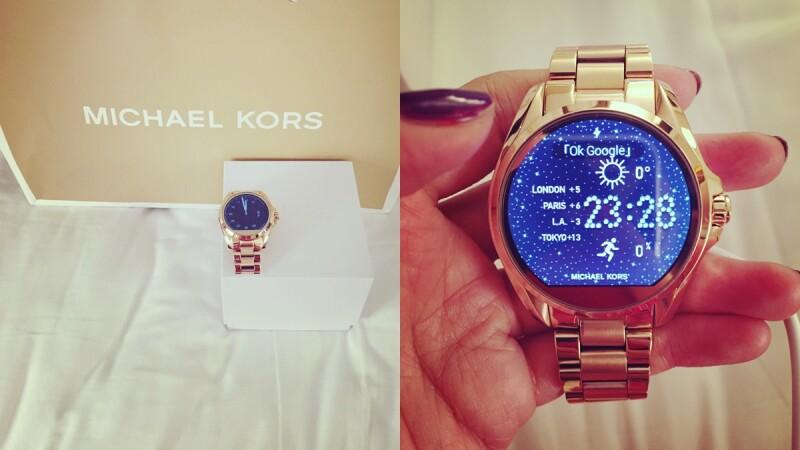 【紐約時裝週】搶先開箱!Michael Kors X Google智慧型手錶原來可以這樣玩