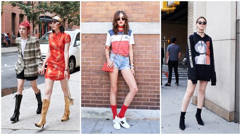 【時裝週街拍】35張街拍圖,帶你看紐約時裝週的硬派街頭酷女孩Style!