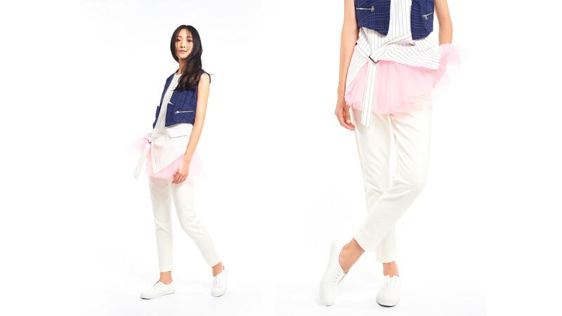 PINK RUN 運動時尚風潮蔓延 Style3:帥氣都會女郎