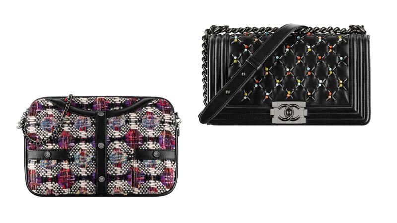 每一款都超想買!Chanel 的Boy Chanel、斜紋軟呢手機包、衣框包就是霸氣啊~