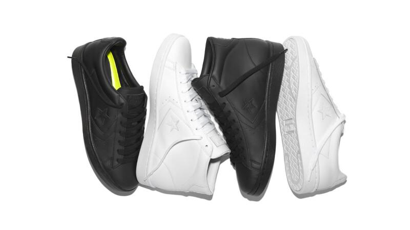 黑白經典球鞋Converse Pro Leather '76極簡設計再升級
