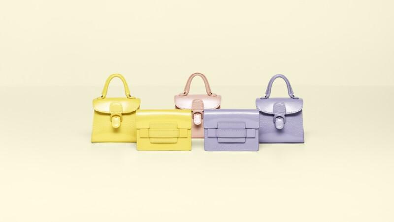 繽紛的夏日風情!裸粉紅、檸檬黃、丁香紫Delvaux春夏系列好夢幻