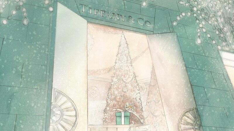 取經自紐約第五大道旗艦店!Tiffany & Co.台北101奇幻聖誕櫥窗登場