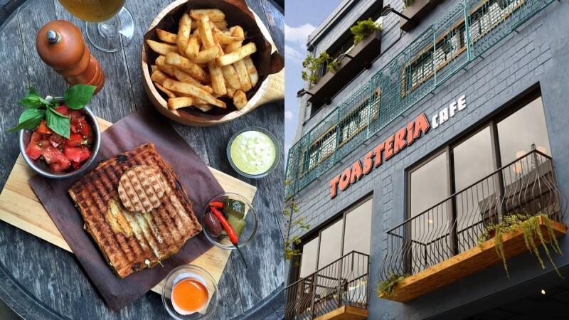 4層樓高的美食新地標!吐司利亞Toasteria Café旗艦店進駐永康商圈