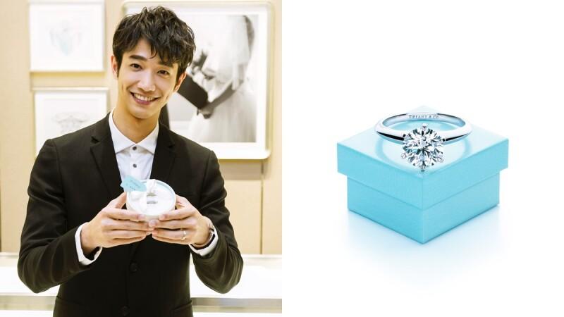 與劉以豪一起策劃浪漫求婚招數!在Tiffany & Co.藍色盒子上的甜蜜祕密