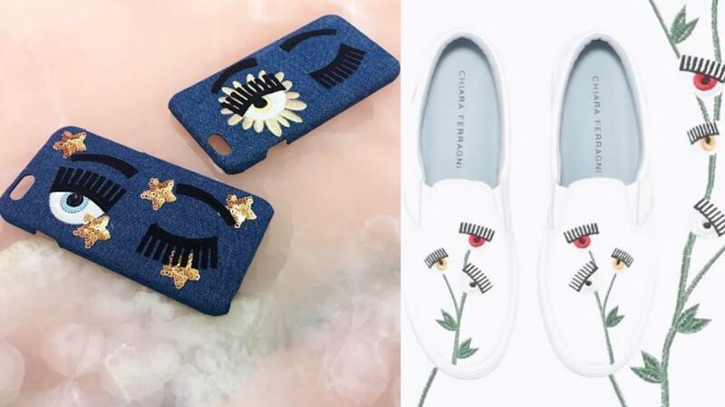 讓人眼冒愛心的小白鞋!Chiara Ferragni春夏系列打造童話風格