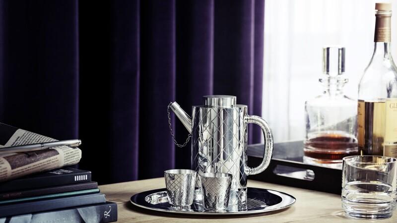 丹麥皇室酒器、精緻銀雕餐具…GEORG JENSEN銀雕古董巡迴展登台展出!