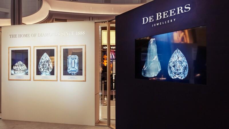 De Beers開立125周年!777克拉原鑽精髓來台展出