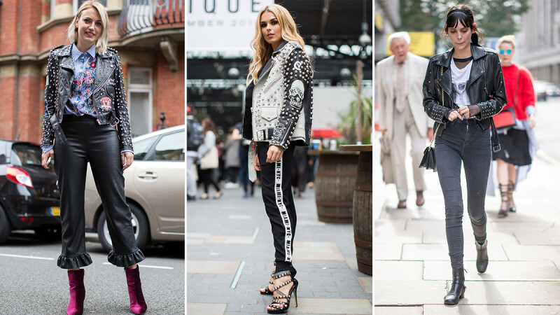 帥勁擋不住!快來看街頭潮人如何駕馭龐克時尚。