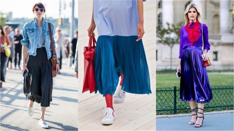 百褶裙不再是乖學生的專利,而是時髦達人的百變選擇!