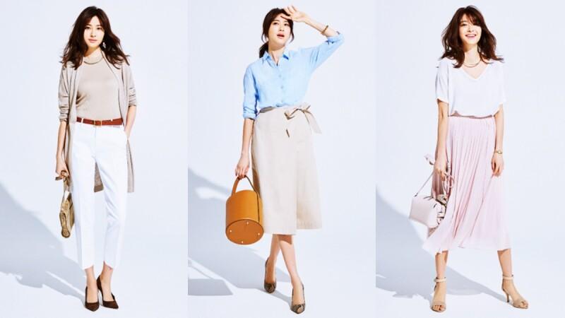 懶女孩請筆記!日本人氣造型師福田麻琴 x UNIQLO的一週夏日穿搭提案