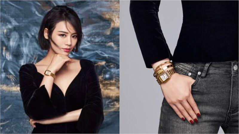 Panthère de Cartier卡地亞美洲豹腕錶的美妙風采,讓金馬影后馬思純為妳演譯!