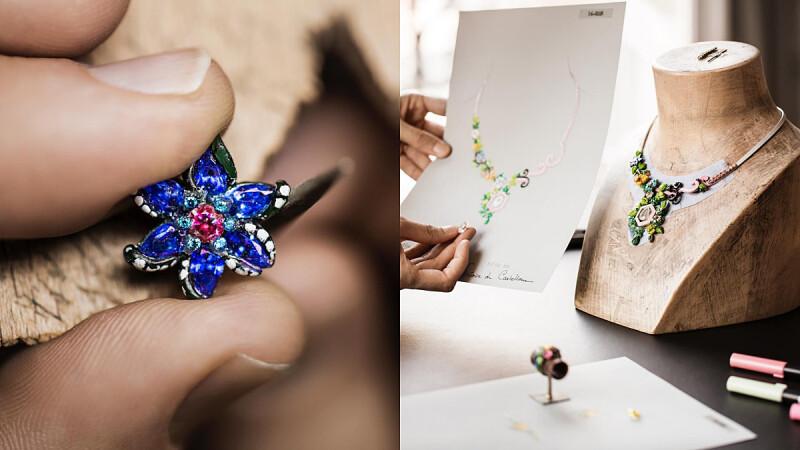 Dior à Versailles, côté Jardins高級珠寶系列揭開凡爾賽宮美麗的第二章節