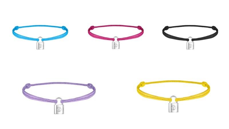 讓人選擇困難的繽紛手鍊!Louis Vuitton推出五款經典鎖頭Silver Lockit發起保護兒童公益