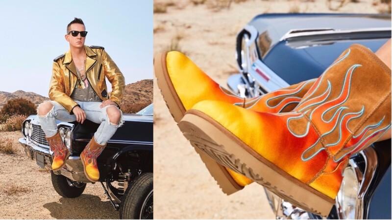 這雙火焰雪靴就是狂!UGG x Jeremy Scott推出全新聯名靴,打造熱情加州風格