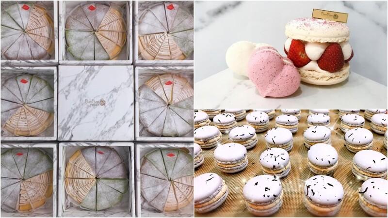 大理石甜點店再加一!新竹BonBon Sweet Dessert&Coffee必點馬卡龍、抹茶千層蛋糕