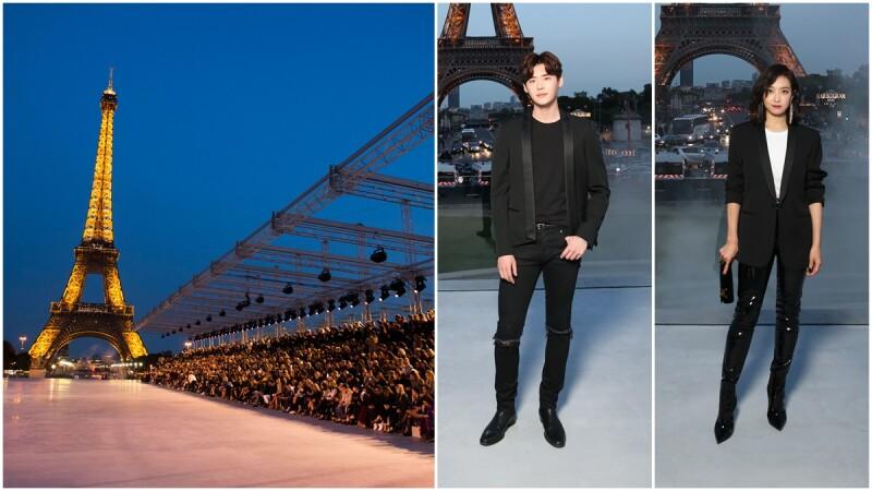 【巴黎時裝週】SAINT LAURENT 聖羅蘭2018春夏大秀,巴黎是封永恆的情書⋯